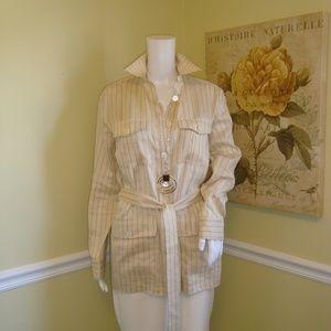 Ralph Lauren Tie Belt Linen Shirt